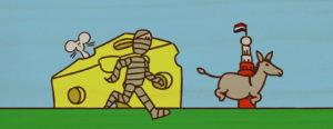 dummie en de tombe van achnetoet animatie door Udo Prinsen