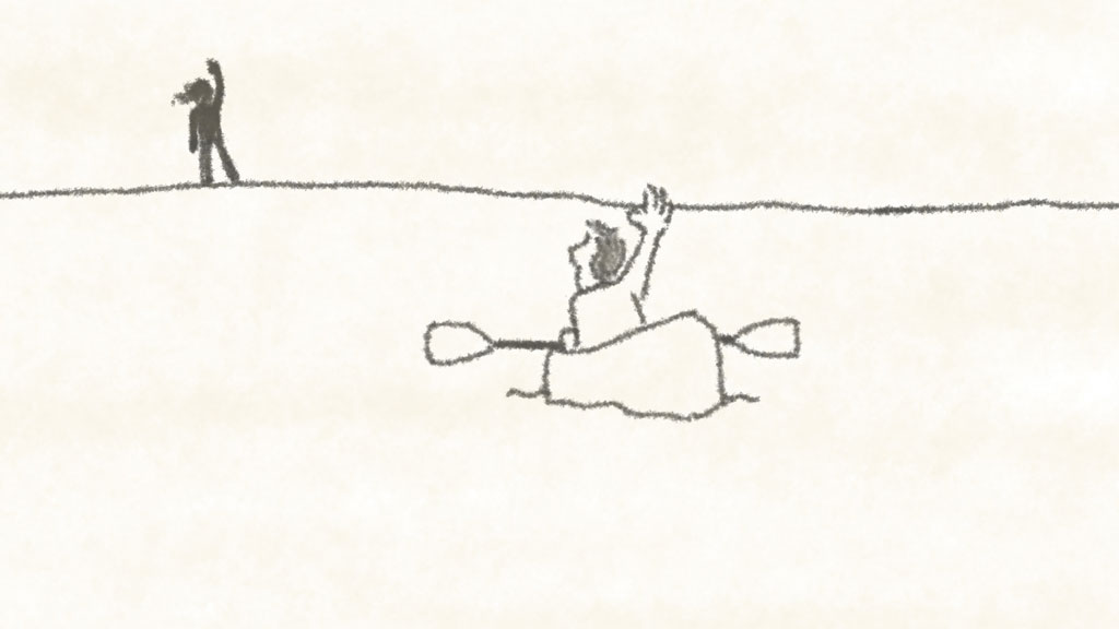 kajak kayak short film animation museum